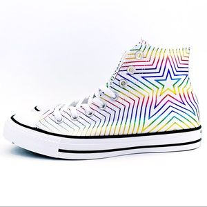🆕 Converse Chuck Taylor All Star Rainbow Sneakers